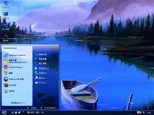 湖光美色电脑主题