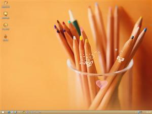 多姿多彩的铅笔电脑主题