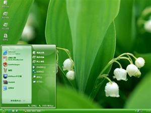 清新花朵电脑主题