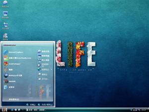 life的彩色电脑主题