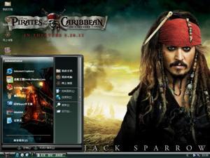 加勒比海盗4影视电脑主题