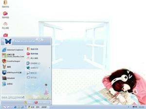 韩国卡通人物电脑主题