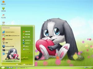 schnuffel bunny电脑主题