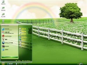 彩虹农场电脑主题