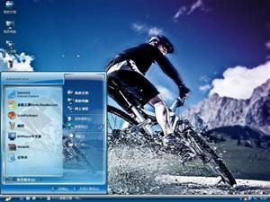 动感单车电脑主题