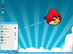 愤怒的小鸟游戏电脑主题