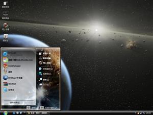 星空宇宙电脑主题