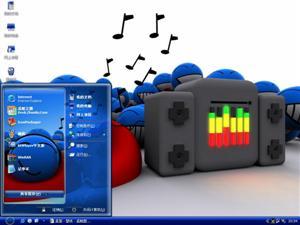 音乐达人电脑主题