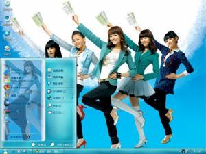 Wonder Girls组合电脑主题