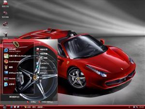 法拉利458 Spider电脑主题
