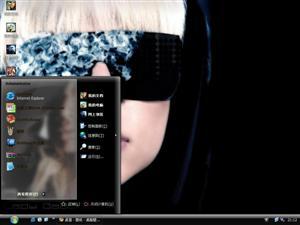 Lady GaGa美女电脑主题