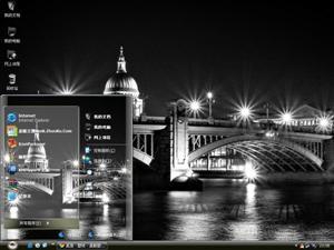 美丽的城市夜景电脑主题