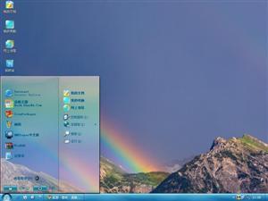 彩虹自然风光电脑主题