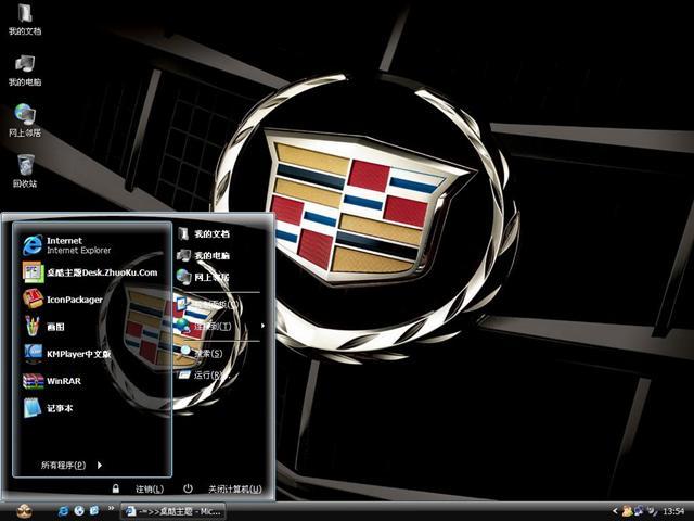 凯迪拉克电脑主题高清图片