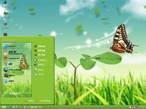 蝴蝶飞电脑主题