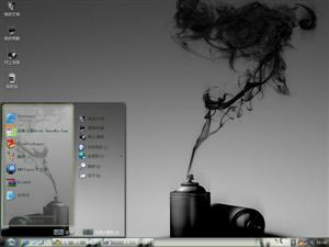 艺术烟熏电脑主题