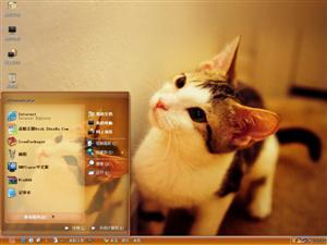 萌货小猫电脑主题