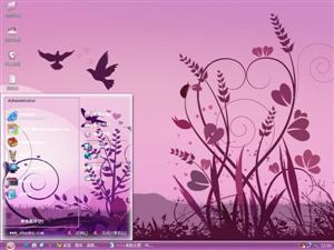 爱情鸟电脑主题