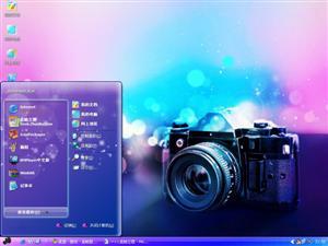 拍出美丽色彩电脑主题