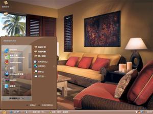温馨家居装饰电脑主题