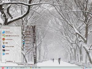冬季雪景电脑主题