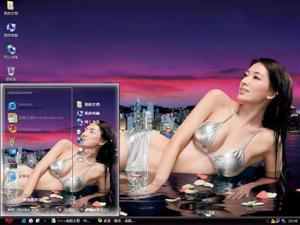 林志玲美女明星电脑主题