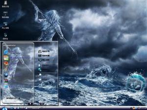 科幻游戏CG电脑主题