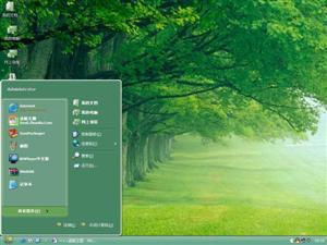 绿色森林电脑主题