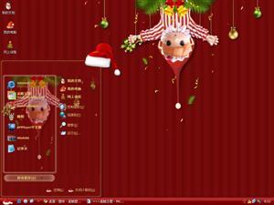 圣诞娃娃电脑主题