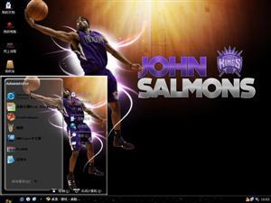 NBA国王队电脑主题