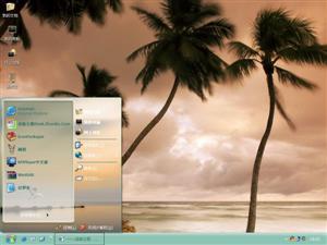 加勒比海滩电脑主题