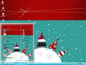 快乐圣诞2012电脑主题