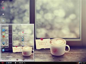 冬日咖啡电脑主题