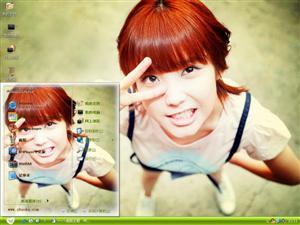李智恩美女明星电脑主题