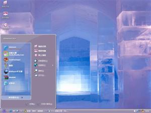 紫色艺术电脑主题