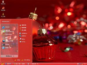圣诞铃铛电脑主题