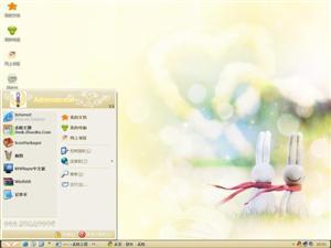 甜蜜兔电脑主题