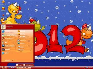 迪士尼新年贺岁电脑主题