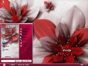 花卉设计电脑主题