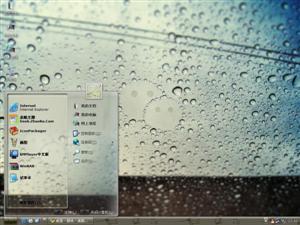 春季雨滴电脑主题