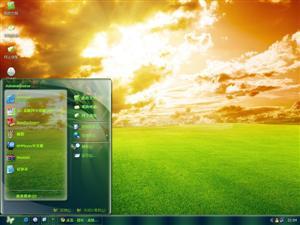 阳光大自然电脑主题