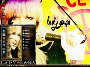 Lady GaGa明星电脑主题