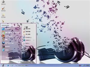 爱音乐电脑主题