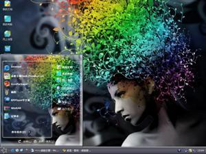 艺术色彩电脑主题