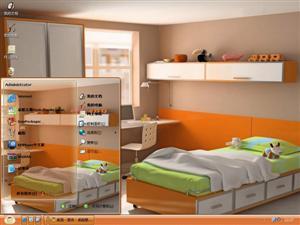 3d房间电脑主题