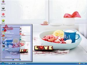 幸福甜品电脑主题