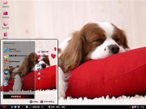 狗狗的美梦电脑主题