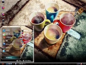 咖啡杯电脑主题
