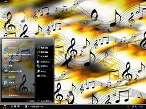 音乐旋律电脑主题