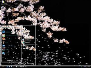 樱花花语电脑主题